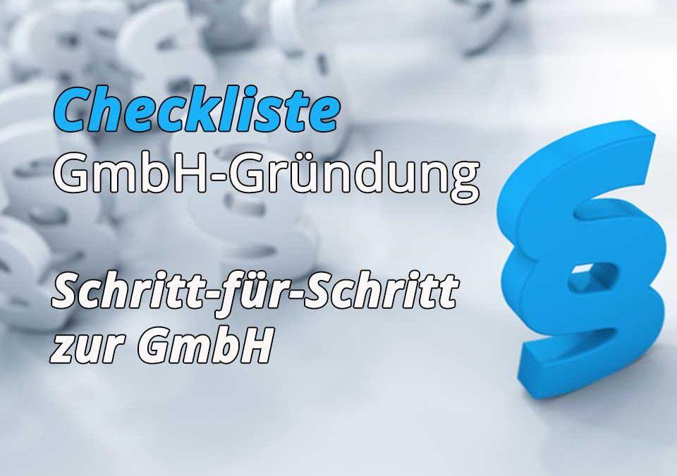 Checkliste GmbH Gründung Teaser Bild