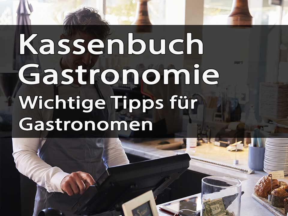 Kassenbuch Gastronomie Titelbild
