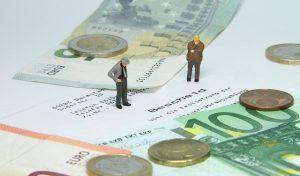 Geldscheine Umsatzsteuer