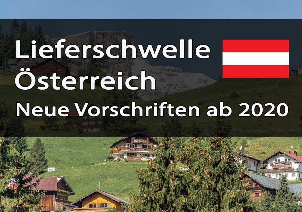 Lieferschwelle Österreich Titelbild