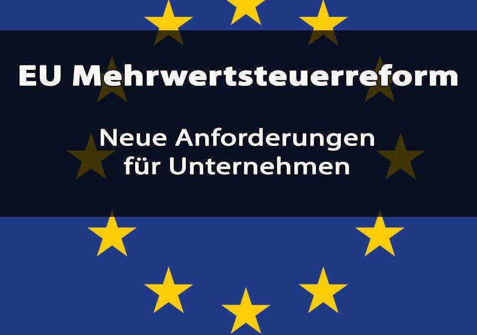 EU Mehrwertsteuerreform Titelbild